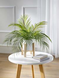 Konstgjord växt, palm i kruka