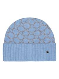 Softe Logo-Mütze mit wärmender Wolle