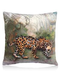 Kissenhülle, Leopard