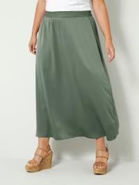 Kjol i dra på-modell
