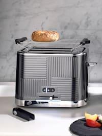 Doppelschlitz-Toaster 'Geo Steel'