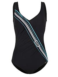Swimsuit in a flattering wrap look