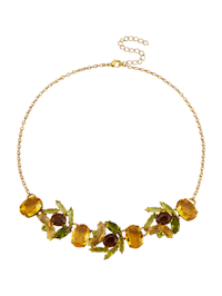 Halsband med kristaller