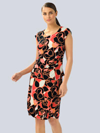 Kleid im Alba Moda Exklusiv-Dessin