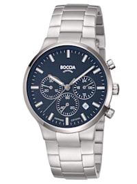 Herren-Armbanduhr Chronograph Titan Blau