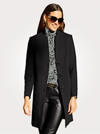 Robe manteau in modieus lang model
