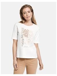 Shirt mit plaziertem Print Organic Cotton