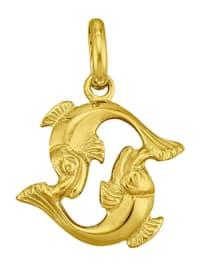 """Kultainen horoskooppiriipus """"Kalat"""""""