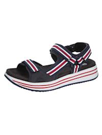 Sandaler med två fotbäddar