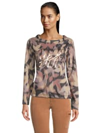 Casual-Sweatshirt mit Print