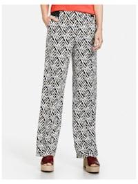Hose mit grafischem Muster