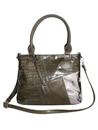 Väska i shoppermodell med två urtagbara väskor 3 delar