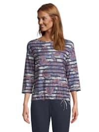 Casual-Sweatshirt mit Aufdruck