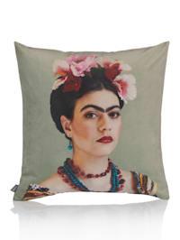 Kissenhülle mit Abbildung Frida Kahlo