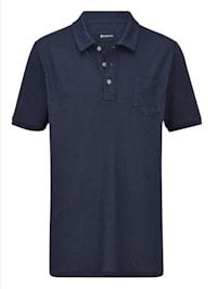 Poloshirt in sommerlich leichter Qualität