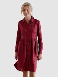Kleid mit modernem Druck