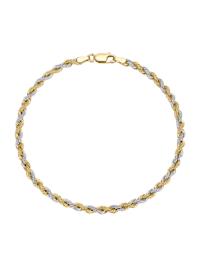 Bracelet maille cordon