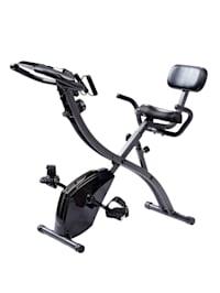 """Vélo semi-allongé et exerciseur du haut du corps Slim Cycle """"3 en 1"""" - pour un entraînement cardio et de renforcement"""