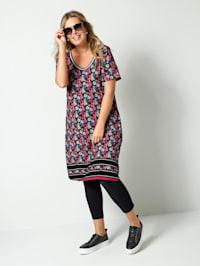 Jersey-Kleid in leicht ausgestellter Form