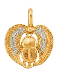 Pendentif Scarabée en or jaune 585