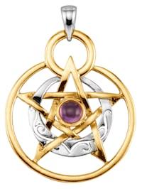 Pentagramm-Anhänger