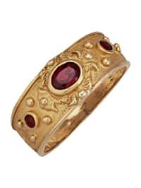 Byzantijnse ring van verguld zilver