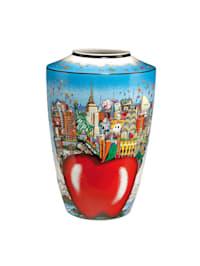 Goebel Vase Charles Fazzino - Butterflies over New York