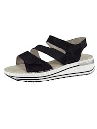Sandale ausgestattet mit der ara-HighSoft Technologie