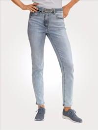 Jeans in trageangenehmer Querstretch-Qualität