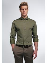 Langarm Hemd SLIM FIT Jersey strukturiert
