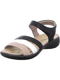 Damen-Sandale Ibiza 111, schwarz-multi