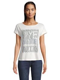 Kurzarm-Shirt mit Placement