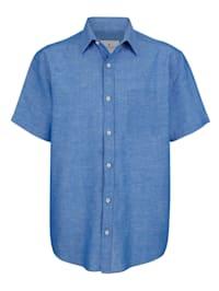 Skjorta med lin