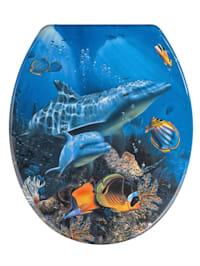 Toiletbril Dolfijn