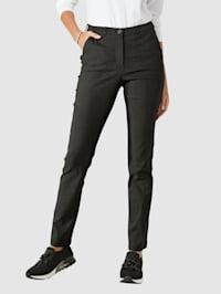 Kalhoty s minimalistickým vzorem