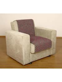 Sesselschoner Sitzflächenschoner Wolle Noppen ca. 150 x 50 cm silber