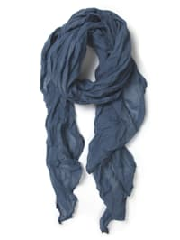 Italienischer Schal Uni Made in Italy