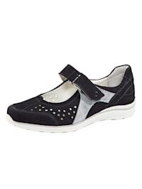 Shoes with cutout detailing