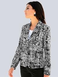Blazer im exklusiven Alba-Moda Print