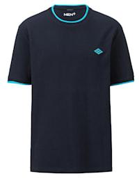 T-shirt med strukturyta