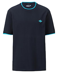 T-shirt met modieuze structuur