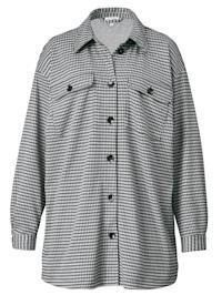 Überhemd mit grafischem Muster