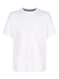 T-Shirt mit modischer Teilungsnaht
