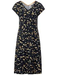 Jersey-Kleid mit Blumen