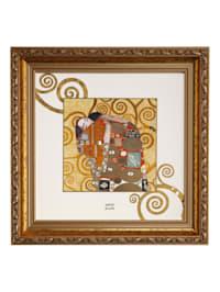 """Wandbild Gustav Klimt - """"Die Erfüllung"""""""