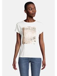 Printshirt mit Aufdruck