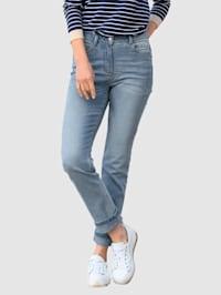 Jeans i modell Sabine slim