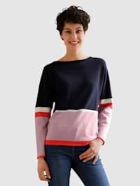 Pullover mit tollem Streifenmuster