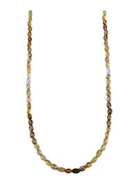 Halsband med zirkoner