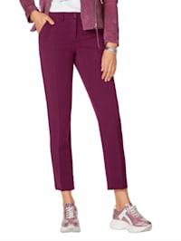 Pantalon à plis permanents
